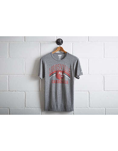 Tailgate Men's Louisville Cardinals Basketball T-Shirt -
