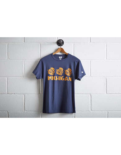 Tailgate Men's Michigan Wolverines T-Shirt - Free Returns