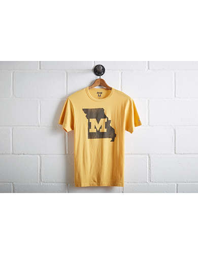 Tailgate Men's Missouri Tigers State T-Shirt -