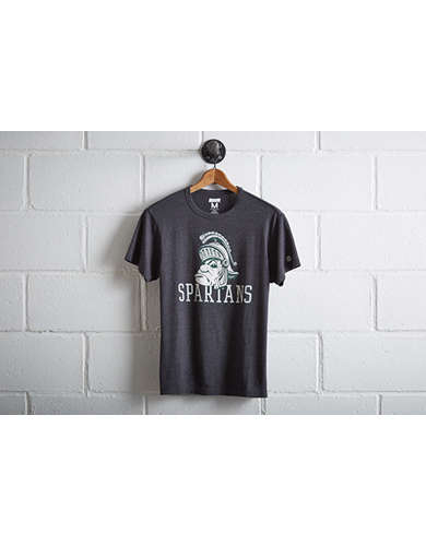 Tailgate Men's Michigan State Spartans T-Shirt - Free Returns