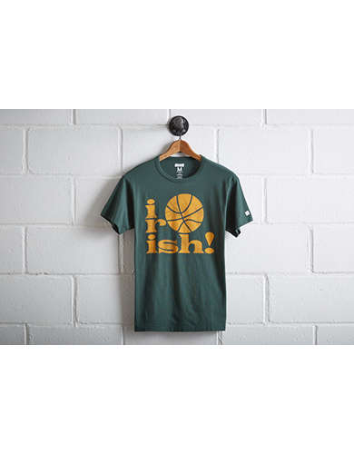 Tailgate Men's Notre Dame Irish Basketball T-Shirt - Free Returns