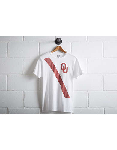 Tailgate Men's Oklahoma Sooners Stripe T-Shirt - Free Shipping + Free Returns