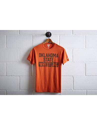Tailgate Men's Oklahoma State Wrestling T-Shirt - Free Returns
