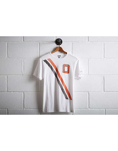 Tailgate Men's Oklahoma State Stripe T-Shirt - Buy One Get One 50% Off