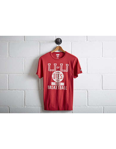 Tailgate Men's Utah Utes Basketball T-Shirt - Free Returns