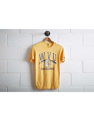 Tailgate Men's WVU Mountaineers Basketball T-Shirt - Free Returns