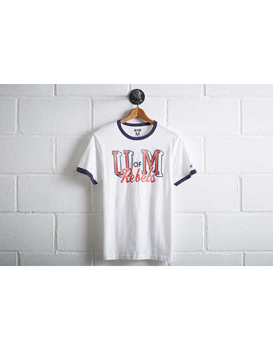 Tailgate Ole Miss Rebels Ringer T-Shirt -