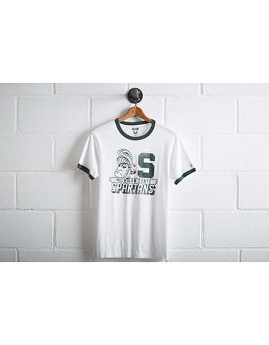 Tailgate Men's Michigan State Ringer T-Shirt -