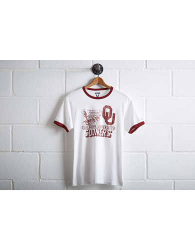Tailgate Men's Oklahoma Sooners Ringer T-Shirt - Free returns