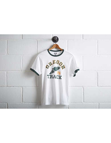 Tailgate Oregon Ducks Ringer T-Shirt -