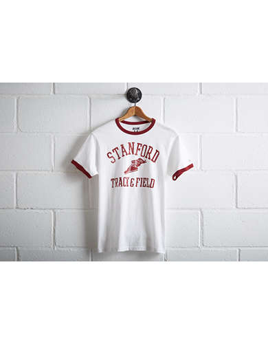 Tailgate Men's Stanford Cardinal Ringer T-Shirt - Free Returns