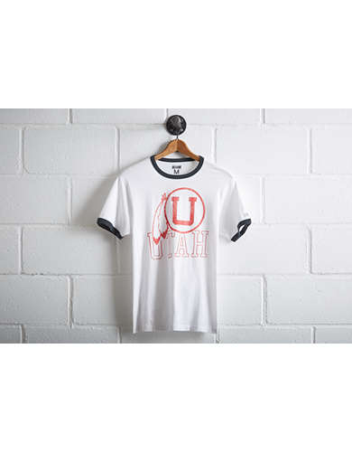 Tailgate Men's Utah Utes Ringer T-Shirt - Free Returns