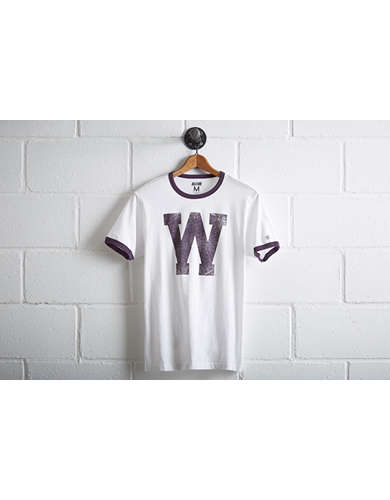 Tailgate Men's Washington Huskies Ringer T-Shirt - Free Returns