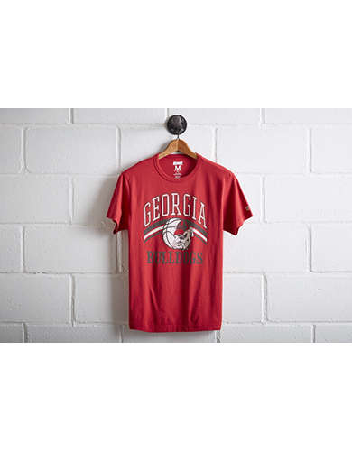 Tailgate Men's Georgia Bulldogs Basketball T-Shirt -