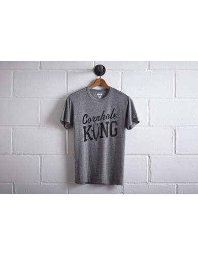 Tailgate Men's Cornhole King T-Shirt - Free Returns