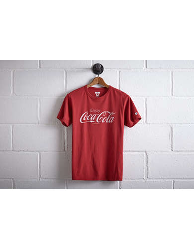 Tailgate Men's Coca Cola T-Shirt - Free Returns