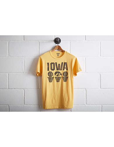 Tailgate Men's Iowa Hawkeyes Basketball T-Shirt -