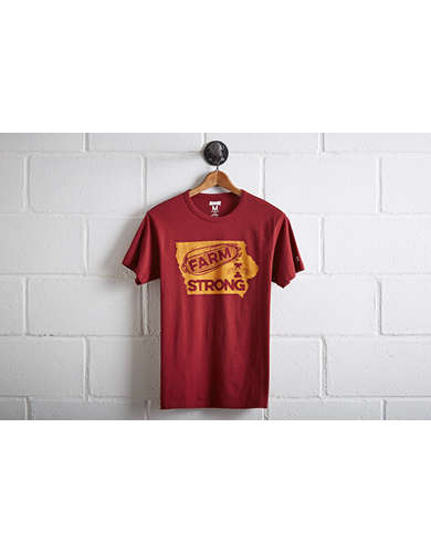 Tailgate Men's ISU Farm Strong T-Shirt - Free Returns