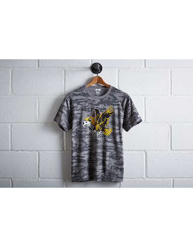Tailgate Men's Iowa Hawkeyes Camo T-Shirt -
