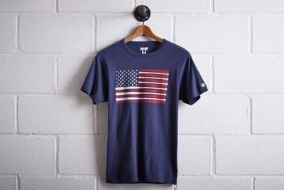 Tailgate Men's Baseball Flag T-Shirt