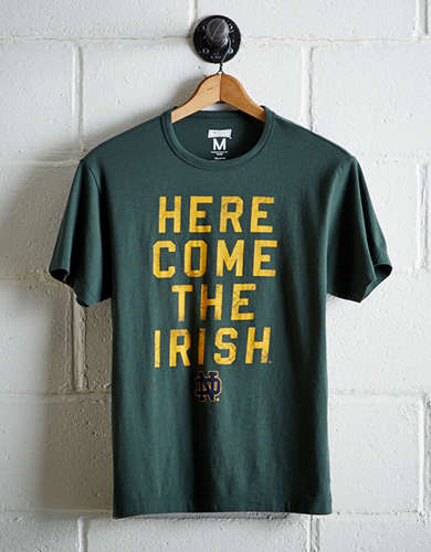 Tailgate Men's Notre Dame Irish T-Shirt - Free Returns