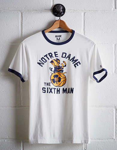 Tailgate Men's Notre Dame Ringer T-Shirt - Free shipping & returns with purchase of NBA item