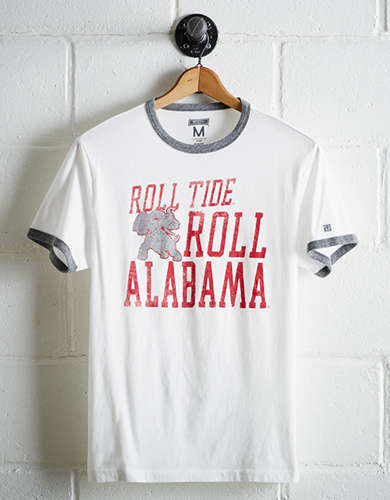 Tailgate Men's Alabama Roll Tide Ringer T-Shirt - Free Returns