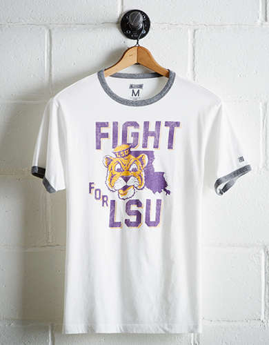 Tailgate Men's LSU Fight Ringer T-Shirt - Free Returns
