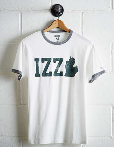 Tailgate Men's Michigan State Izzo Ringer T-Shirt - Free returns