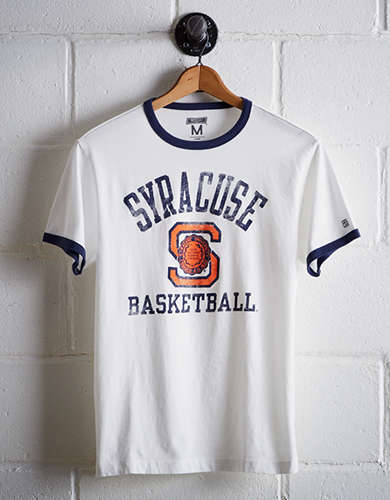 Tailgate Men's Syracuse Ringer T-Shirt - Free returns
