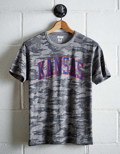 Tailgate Men's Kansas Camo T-Shirt - Free Returns