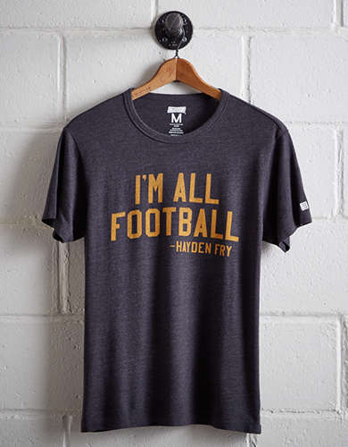 Tailgate Men's Iowa I'm All Football T-Shirt -