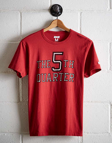 Tailgate Men's Wisconsin 5th Quarter T-Shirt - Free Returns