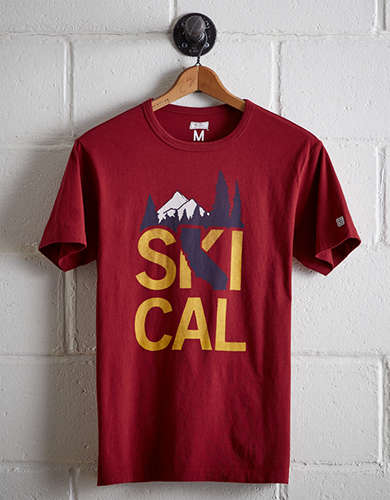 Tailgate Men's Ski Cal T-Shirt -
