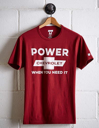 Tailgate Men's Chevrolet Power T-Shirt - Free Shipping + Free Returns