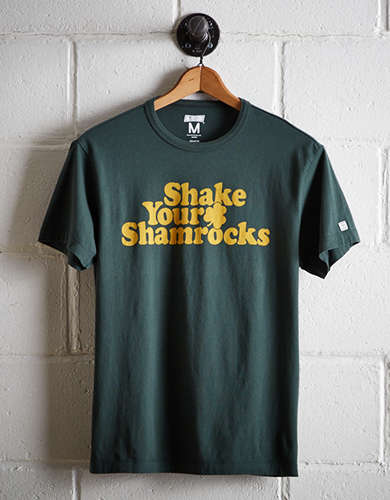 Tailgate Men's Shake Your Shamrocks T-Shirt -