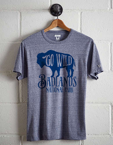 Tailgate Men's Badlands National Park T-Shirt - Free Returns