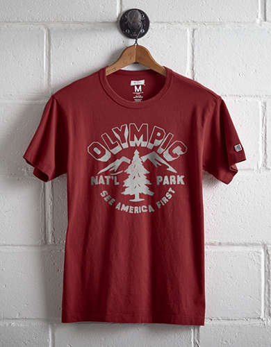 Tailgate Men's Olympic National Park T-Shirt - Free Returns