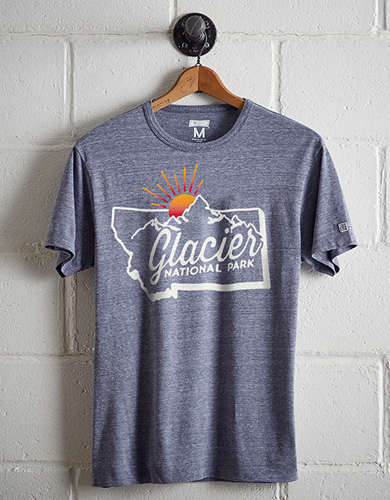 Tailgate Men's Glacier National Park T-Shirt - Free returns