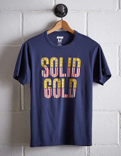 Tailgate Men's Solid Gold T-Shirt -