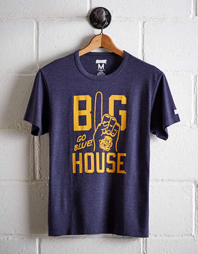 Tailgate Men's Michigan Big House T-Shirt - Free Returns