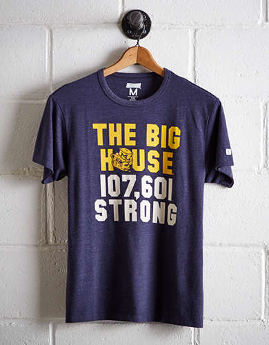 Tailgate Men's Michigan Strong T-Shirt - Free Returns