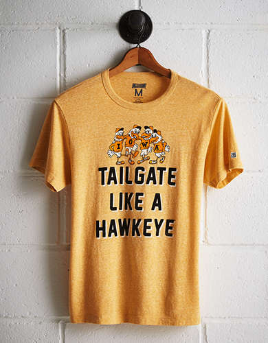 Tailgate Men's Iowa Hawkeyes T-Shirt - Free returns