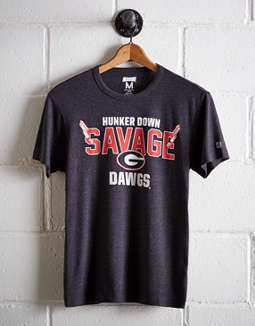 Tailgate Men's Georgia Savage T-Shirt