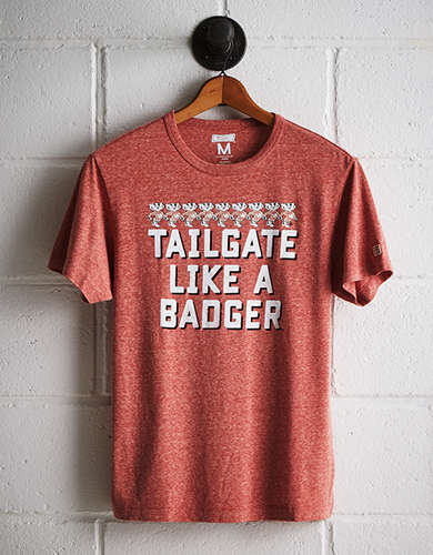 Tailgate Men's Wisconsin T-Shirt - Free Returns
