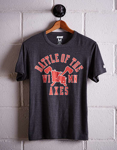 Tailgate Men's Wisconsin Battle Of The Axes T-Shirt - Free Returns