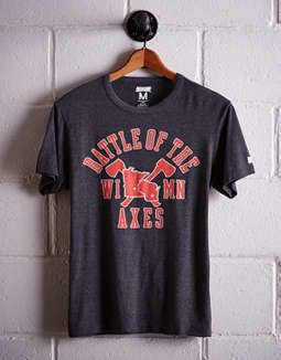 Tailgate Men's Wisconsin Battle Of The Axes T-Shirt