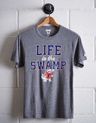 Tailgate Men's Florida Life In The Swamp T-Shirt - Free Returns