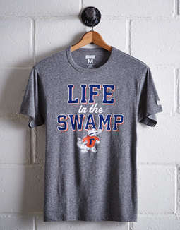 Tailgate Men's Florida Life In The Swamp T-Shirt