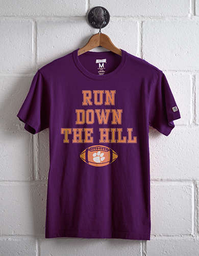 Tailgate Men's Clemson Run Down The Hill T-Shirt - Free Returns